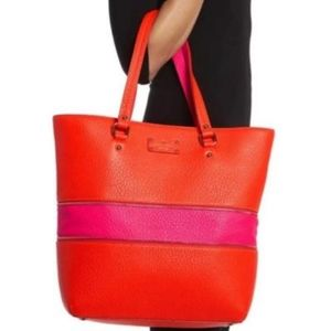 Kate Spade Michelle Grove Court XL Leather Tote
